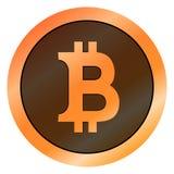 Valuta virtuale dei fondi BItcoin Cryptocurrency Fotografia Stock