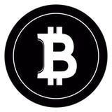 Valuta virtuale dei fondi BItcoin Cryptocurrency Immagine Stock