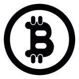 Valuta virtuale dei fondi BItcoin Cryptocurrency Fotografie Stock Libere da Diritti