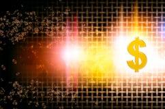Valutadollorresning Arkivbild