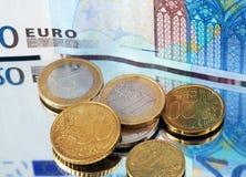 valutaeuropean Arkivbild