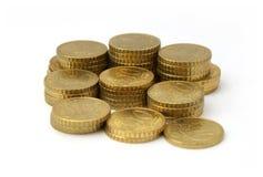 valutaeuropean Royaltyfri Fotografi