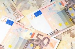 valutaEuropeiska union Royaltyfria Foton