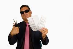 Valutaförfalskningdollar Fotografering för Bildbyråer