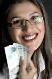 valutaflicka arkivbild