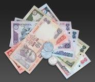 valutaindier royaltyfri fotografi