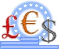 valutaopposition Royaltyfria Bilder