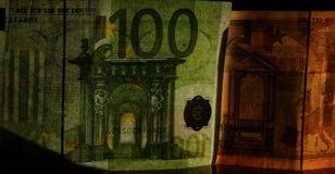 Valutaräkning av den europeiska gemenskapen Royaltyfri Foto