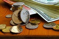 Valutaspekulation Fotografering för Bildbyråer