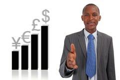 valutavinst royaltyfria bilder
