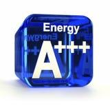 Valutazione A+++ di rendimento energetico Fotografie Stock