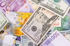 Valute fotografie stock libere da diritti