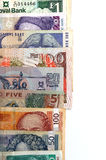 Valute del mondo Immagine Stock Libera da Diritti