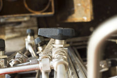 Valve, close-up, industrial images Royalty Free Stock Photography