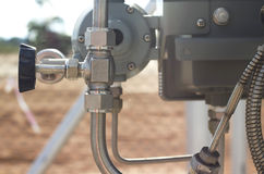 Valve, close-up, industrial images Stock Images