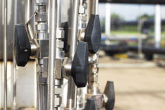 Valve, close-up, industrial images Stock Photos