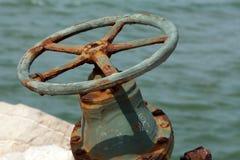 valve coated corrosion Royalty Free Stock Photo