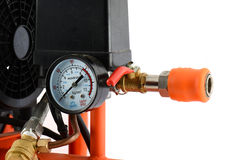 Valve compressor Stock Photo