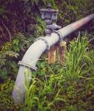 Valve de contrôleur de l'eau photos stock