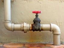 Valve de l'eau Photos libres de droits