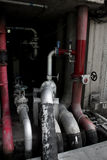 Valve fire pump Stock Images