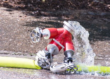 Valve and Firehose Royalty Free Stock Images