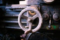 Valve of heavy machine Stock Images