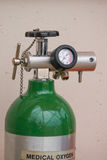 Valve of oxygen tank. For  First aid Royalty Free Stock Photos