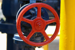 Valve on the pipeline Royalty Free Stock Photo