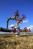 Valve on the pipeline Stock Image