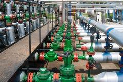 Valve and pipeline Stock Photos