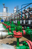 Valve and pipeline Stock Photography