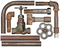Valve and pipes Stock Photography