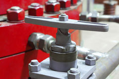 Valve of the pump.Industrial equipment.Engineering. Royalty Free Stock Image