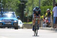 A.VALVERDE (MOV - ESP). During the 9 stage of the Tour de France, Arc et Senans-Besançon, July 9 2012 Royalty Free Stock Photography