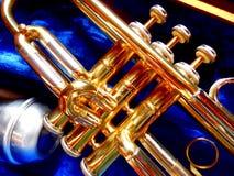 Valves de trompette images libres de droits