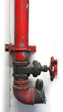 Valves and faucet firehouse. Safety security protection equipment in hospital Thailand Stock Photo