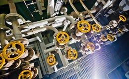 Valves - Engineering Interior Stock Images
