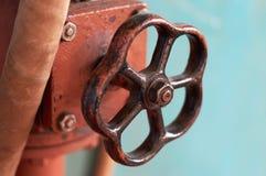 Valvola del combustibile gassoso Immagine Stock Libera da Diritti
