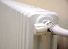 Valvola del radiatore Fotografia Stock Libera da Diritti