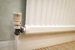 Valvola del radiatore Fotografie Stock Libere da Diritti