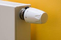 Valvola del termostato Immagini Stock Libere da Diritti