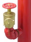 Valvola della manichetta antincendio Immagine Stock