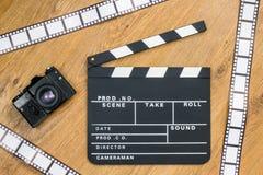 Valvola di produzione di film Immagine Stock