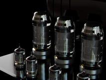 Valvola elettronica elettronica Fotografia Stock Libera da Diritti