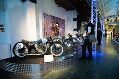 Valvola a farfalla piena alle motociclette di Pyynikki- Fotografia Stock Libera da Diritti