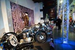 Valvola a farfalla piena alle motociclette di Pyynikki- Immagine Stock Libera da Diritti