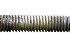 valvola industriale del gambo del grunge del primo piano fotografia stock