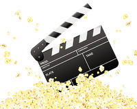 Valvole & popcorn Fotografia Stock