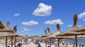 Vama Veche strand Royaltyfri Foto